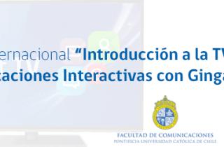 """Curso Internacional """"Introducción a la TV Digital y Aplicaciones Interactivas con Ginga-NCL"""""""
