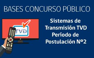 Sistemas de Transmisión TVD Período de Postulación Nº2